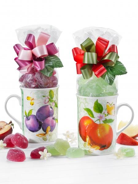 Früchtebecher-Duo