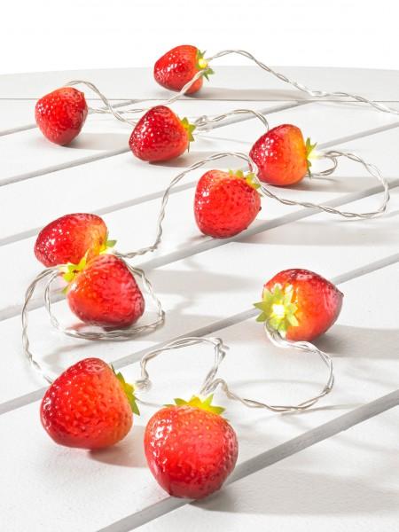 """LED-Girlande """"Erdbeere"""""""