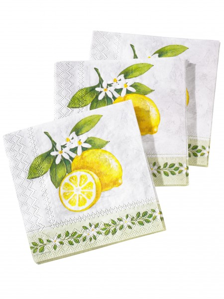 "Servietten ""Lemon"""