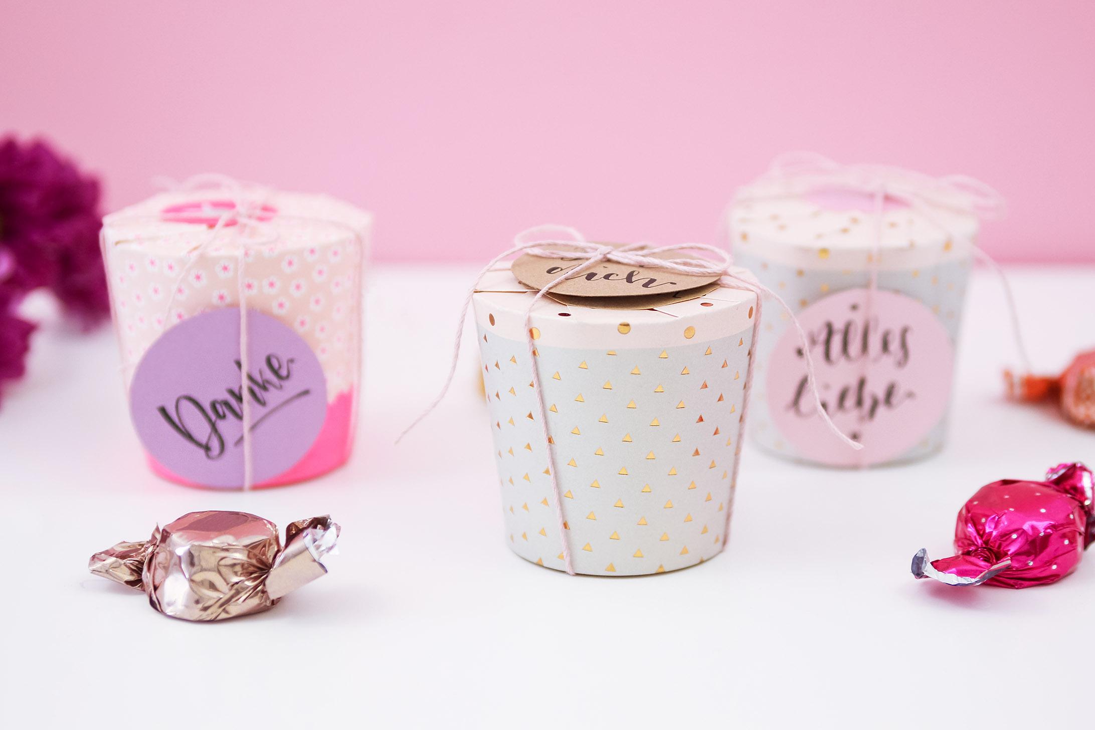 Favorit Süßigkeiten schnell verpackt | Geschenke basteln mit Judith IB26