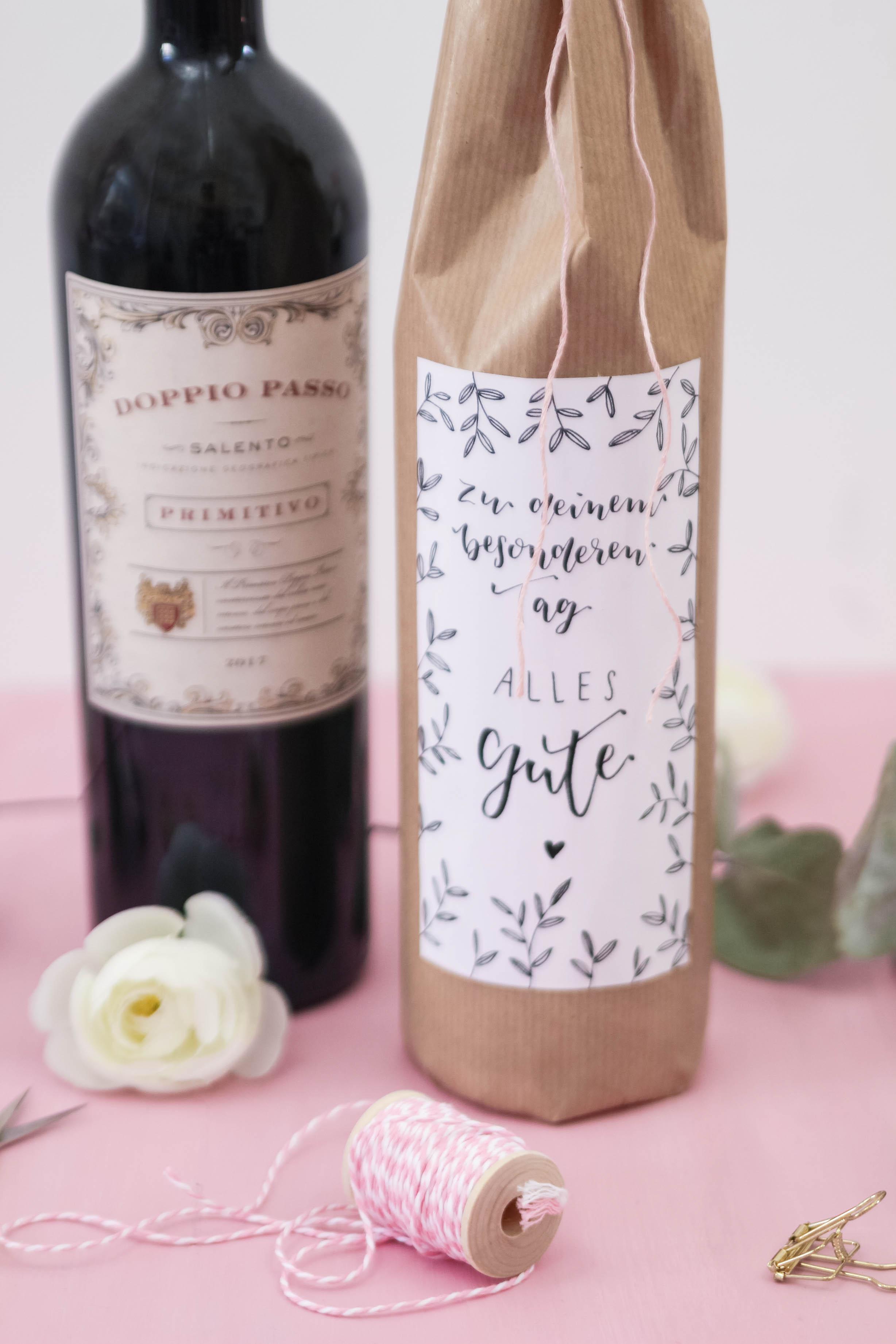 Wein Verschenken Geschenke Basteln Mit Judith Themenwelten